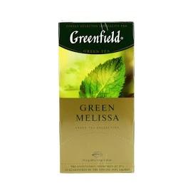 GREENFIELD Vihreä tee melissa 25 x 1