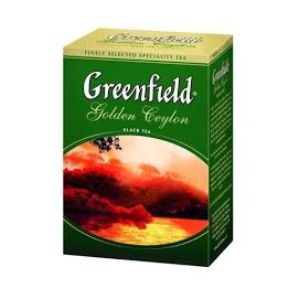 GREENFIELD Musta tee 100 x 2 g