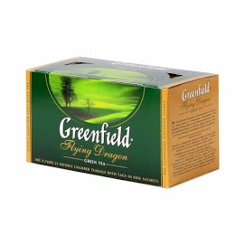 GREENFIELS Vihreä tee 50 g