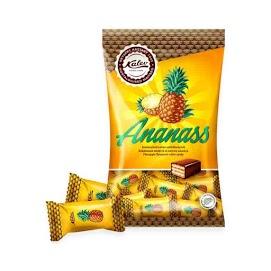 KALEV Ananas vohvelikonvehti 150 g