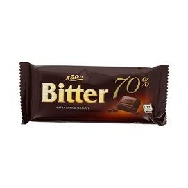 KALEV Bitter 70 % tumma suklaa 100 g