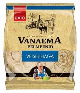 UVIC Pelmenit naudanliha 400 g