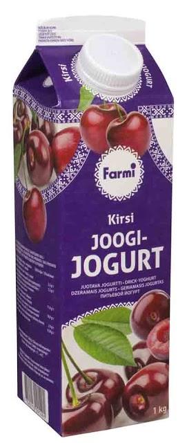 FARMI Kirsikka juotava jogurtti 1 kg