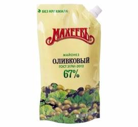 MAHEEV Majoneesi oliivi 67 % 400 ml