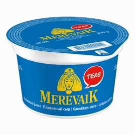 MEREVAIK Sulatejuusto 18 % 200 g