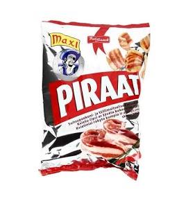 BALSNACK Piraat perunasipsit pekoni ja chili 40 g
