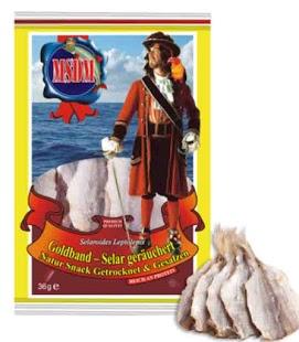 MSDM Kuivattu piikkimakrilli 36 g