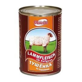 MONOLITH Haudutettu lampaanliha 400 g