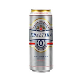 BALTIKA Olut 0 % 500 ml