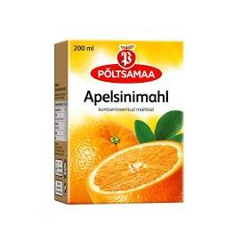 PÖLTSAMAA Oranssi mehu 200 ml
