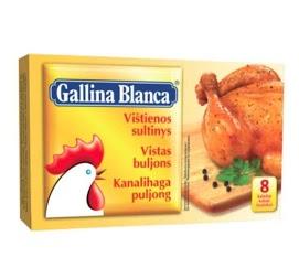 GALLINA BLANCA Kanaliemikuutio 8x10 g