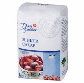 DAN SUKKER Sokeri 1 kg