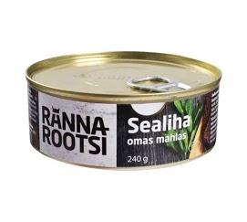 R. ROOTSI Sianliha omassa liemessä 240 g