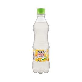 AURA Hedelmäinen sitruunamakuinen vesi 500 ml