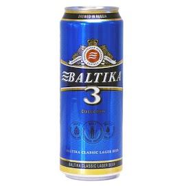 BALTIKA Olut № 3 4