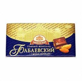 BABAJEVSKIJ manteli-tummasuklaa 100 g