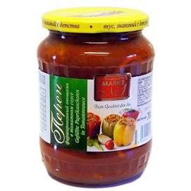 STEINHAUER Paprika tomattikastikkeessa kasviksijen täytellä 700 g