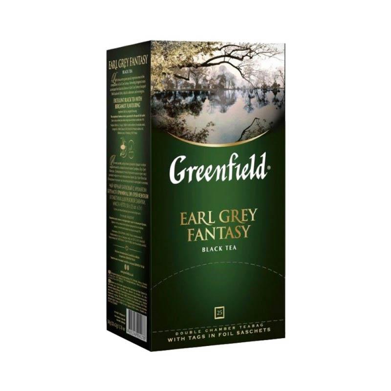 GREENFIELD Earl Grey tee 25 x2 g