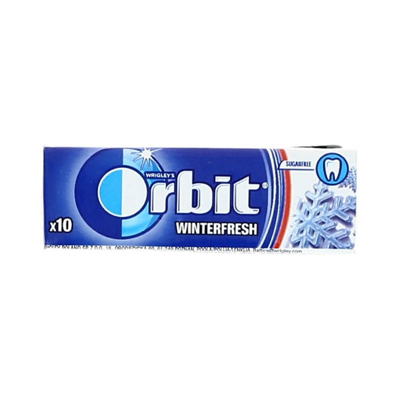 ORBIT Purukumi winterfresh 14 g