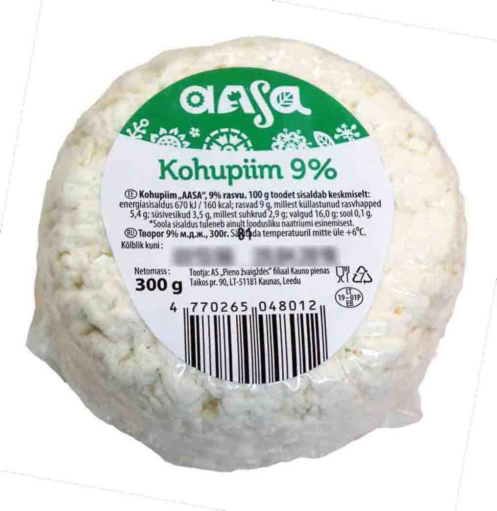 AASA rahka 9 % 300 g