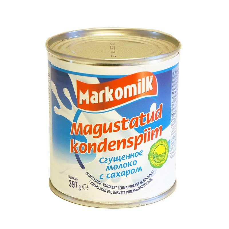 MARKOMILK Sokeroitu maitotiiviste 397 g
