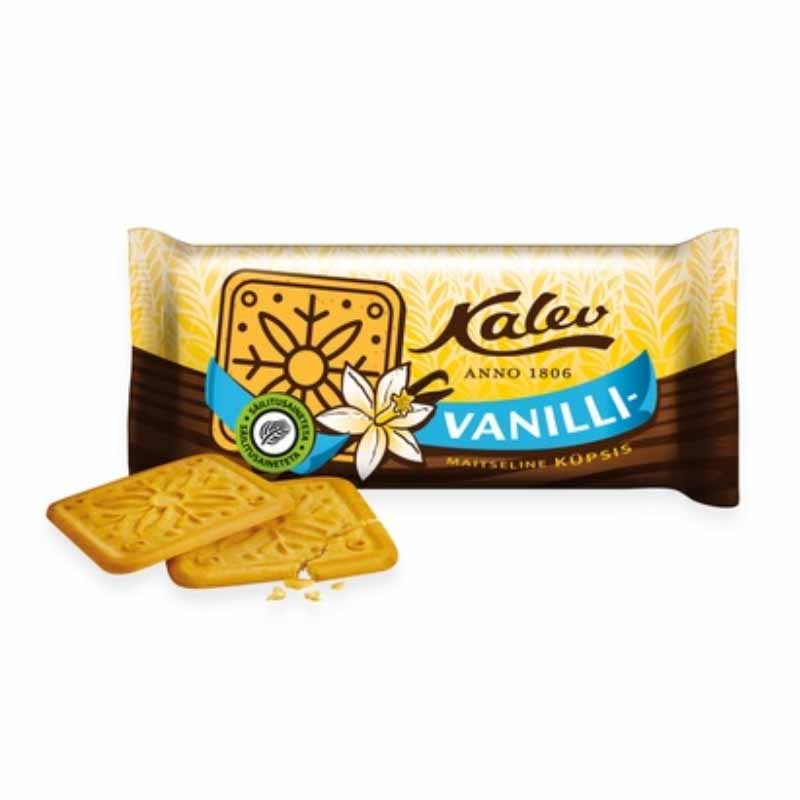 KALEV Vaniljakeksi 163 g