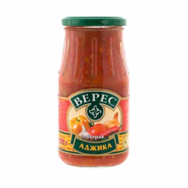 VERES Tomaattikastike tulinen Adzika 530 g