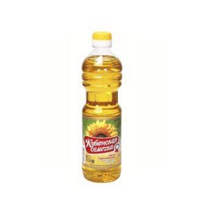 KUBANSKAJA SEMECHKA Auringonkukkaöljy 500 ml