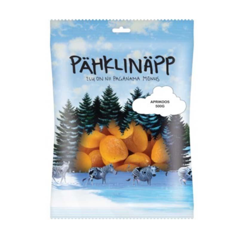 PÄHKLINÄPP Kuivattu aprikoosi 500 g