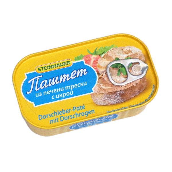 STEINHAUER Turskanmaksa pasteija mädillä 115 g