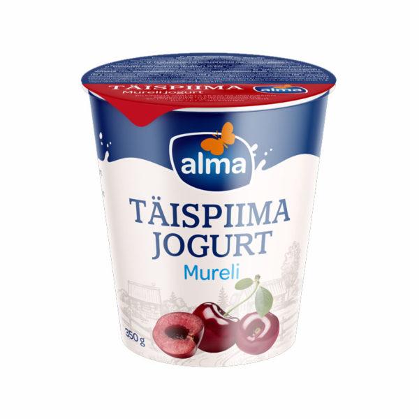 ALMA Makea kirsikka täysmaito jogurtti 350 g