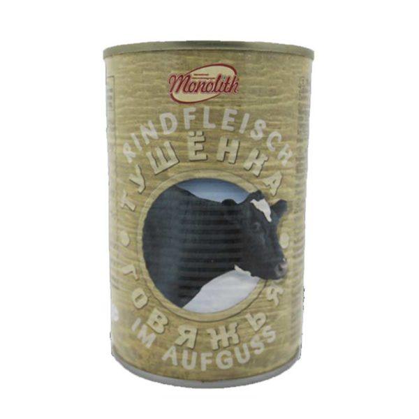 MONOLITH Haudutettu naudanliha 400 g