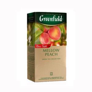 GREENFIELD Vihreä tee persikka 25 x 1