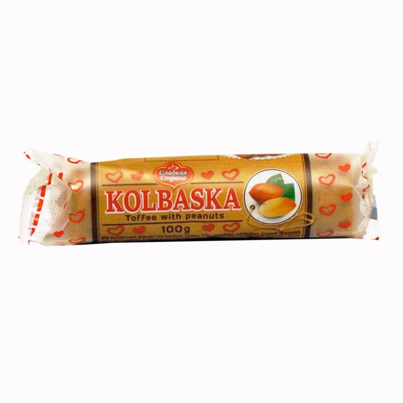 SLADKAJA STRANA Pähkinä makkara 100 g