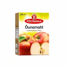 PÖLTSAMAA Omenajuoma 200 ml