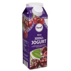 FARMI Juotava kirsikkajogurtti 1 kg