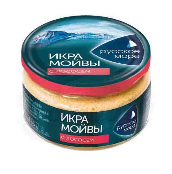 RUSSKOE MORE Villakuorenmäti katkaravuilla 165 g