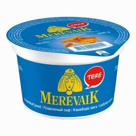 MEREVAIK Sulatejuusto kantarelli 18 % 200 g