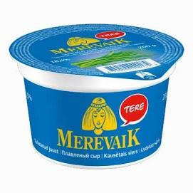 MEREVAIK Sulatejuusto ruohosipuli 18 % 200 g