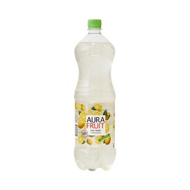 AURA Hedelmäinen sitruunamakuinen vesi 1