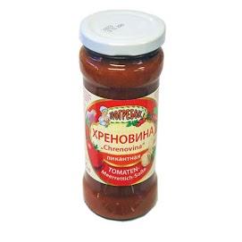 POGREBOK Tomaatti-piparjuurikastike 295 ml