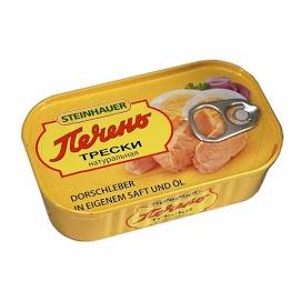 STEINHAUER Turskanmaksa 120 g