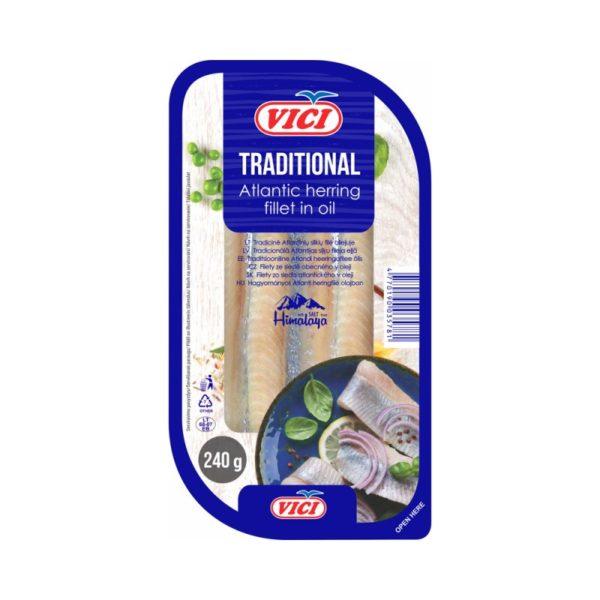 VICI Sillifilee öljyssä 240 g