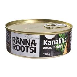 R. ROOTSI Kananliha omassa liemessä 240 g
