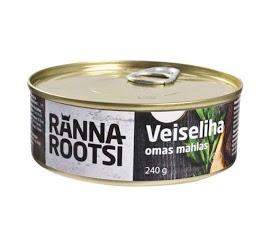 R. ROOTSI Naudanliha omassa liemessä 240 g