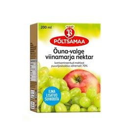 PÖLTSAMAA Omena-viinirypälemehu 200 ml